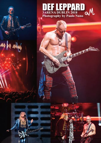 Page 7 of Def Leppard live in Dublin