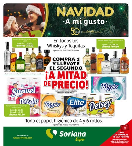 Folleto Soriana Super 07 De Diciembre 2018 By Sorianacom Issuu