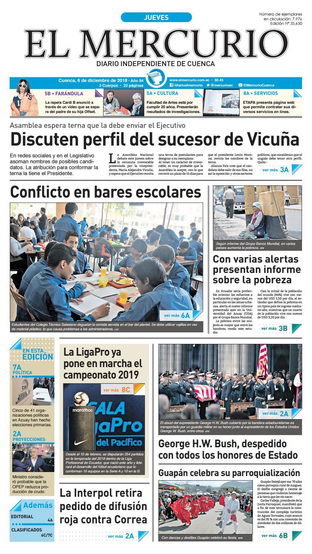 Hemeroteca-06-12-2018 by Diario El Mercurio Cuenca - issuu 39bc4694bce