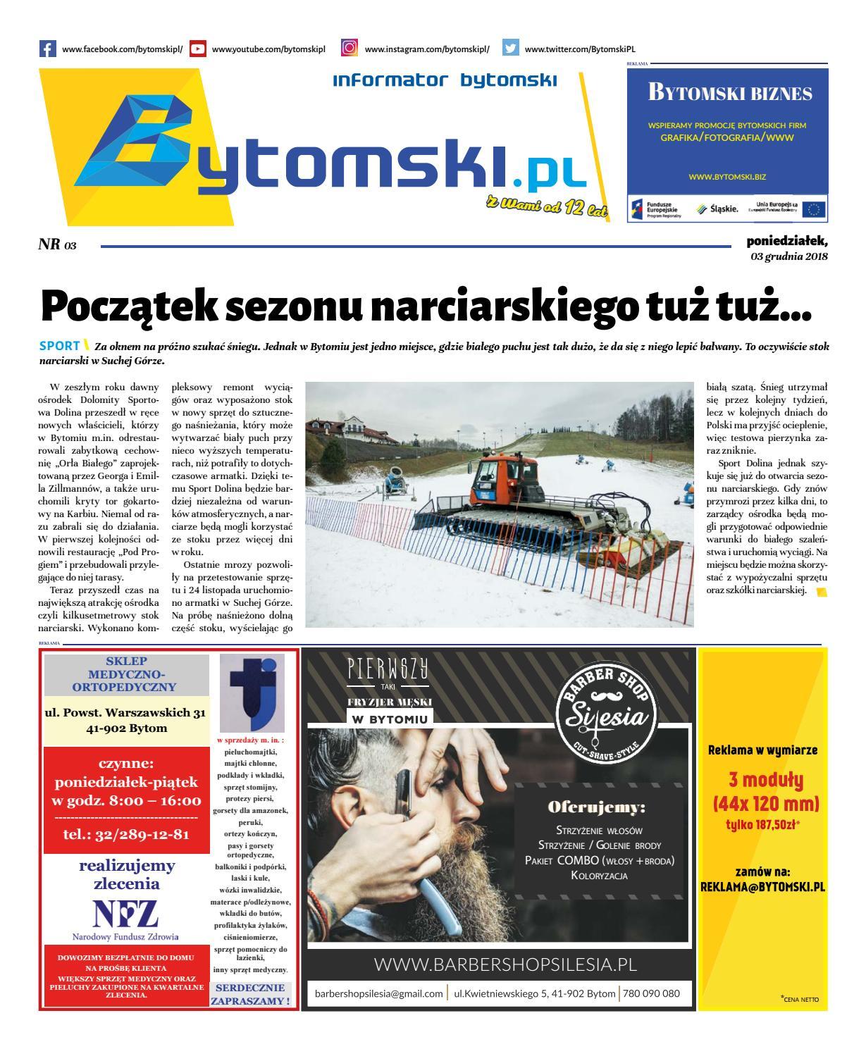 Informator Bytomski Nr 032018 By Bytomski Biznes Issuu