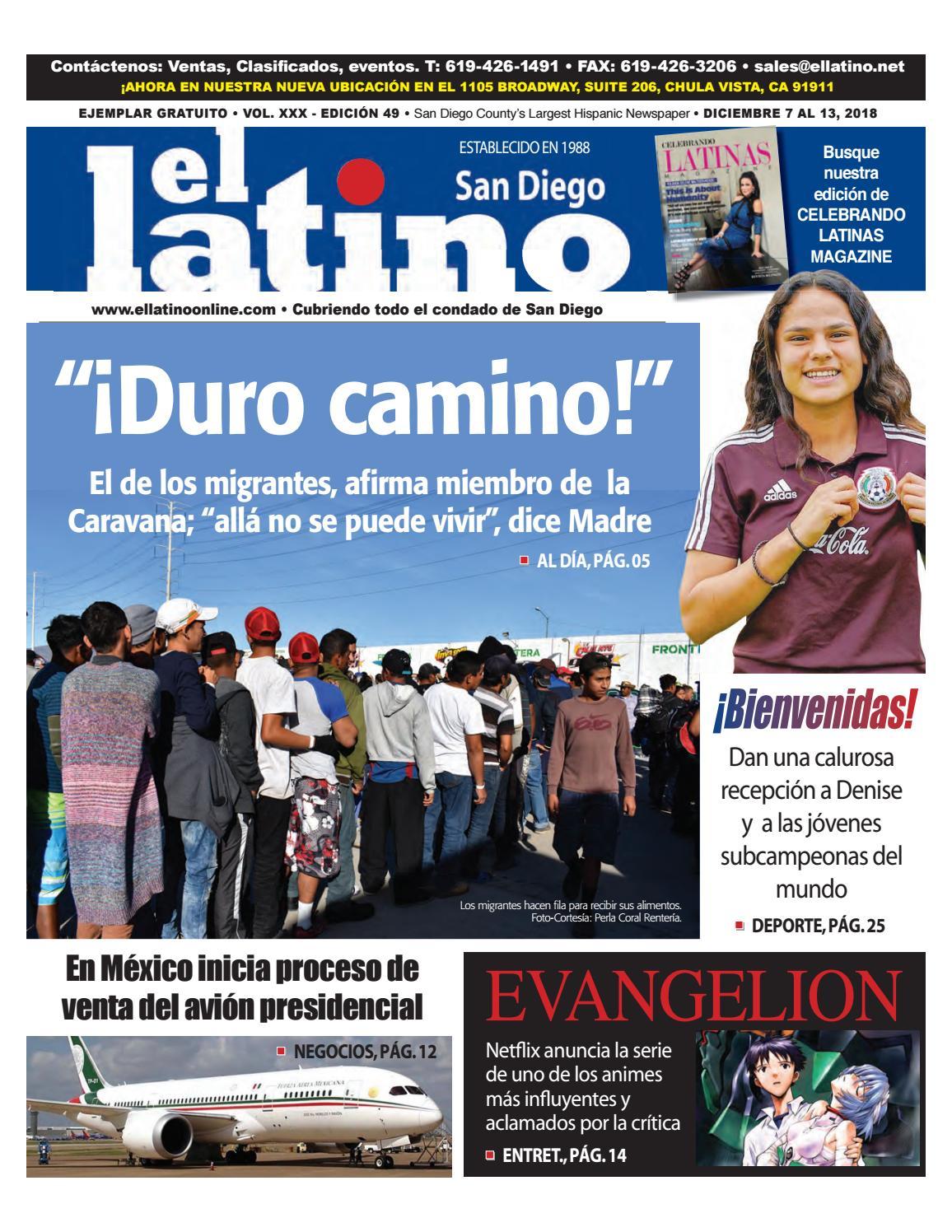 El Latino San Diego Newspaper by El Latino San Diego Newspaper - issuu 431572f0e69