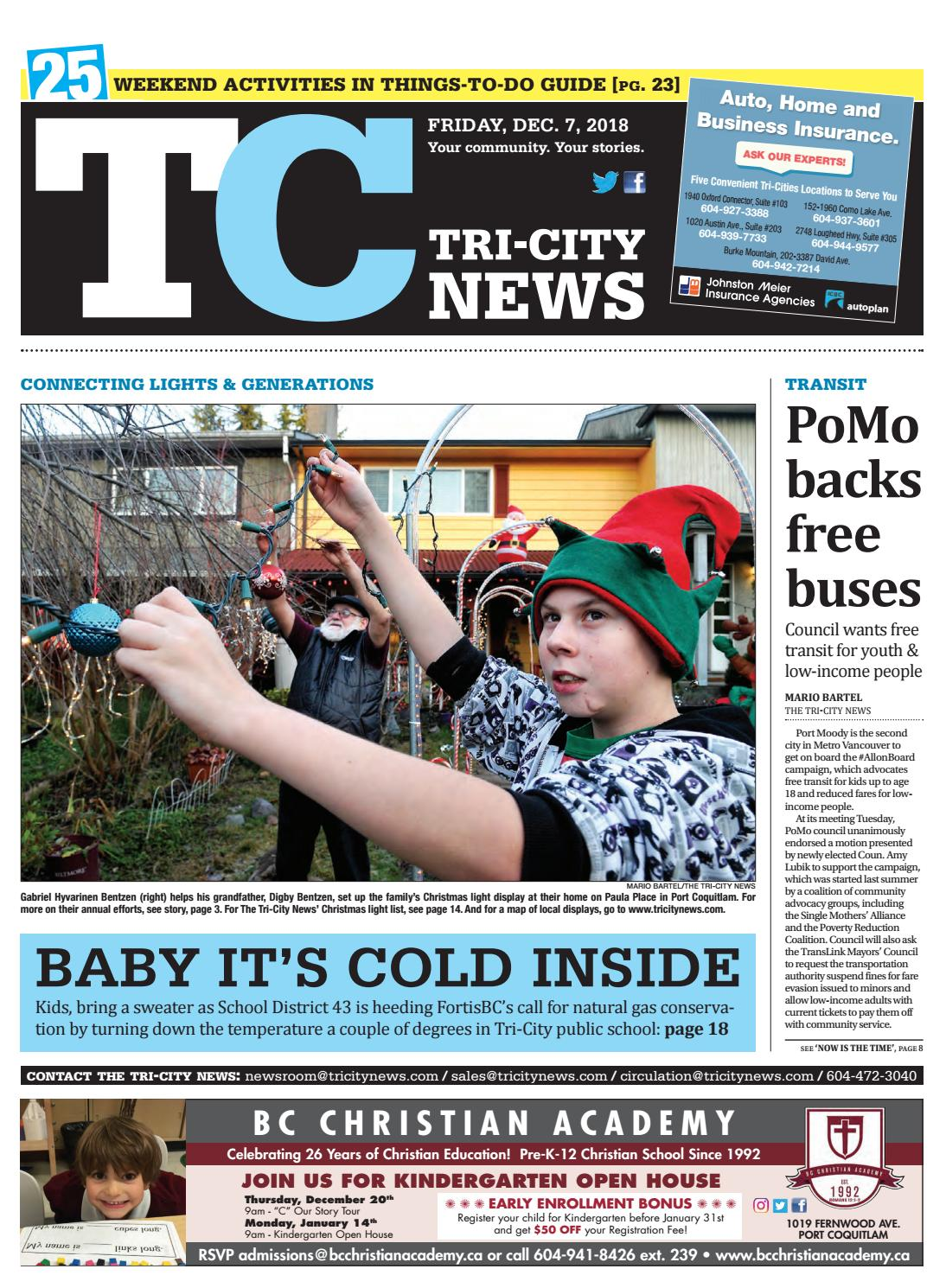 4d050ff403adf3 Tri-City News December 7 2018 by Tri-City News - issuu