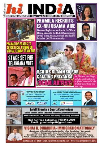 Page 3 of Scribe slammed for calling Priyanka 'scam artist'