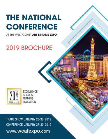 cd192c97b2d6 National Conference 2019 Brochure by wcafexpo - issuu