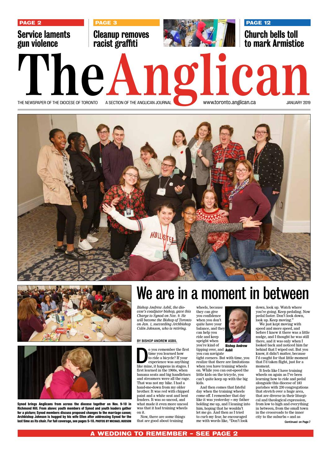 The Anglican, January 2019 by Anglican Diocese of Toronto - issuu