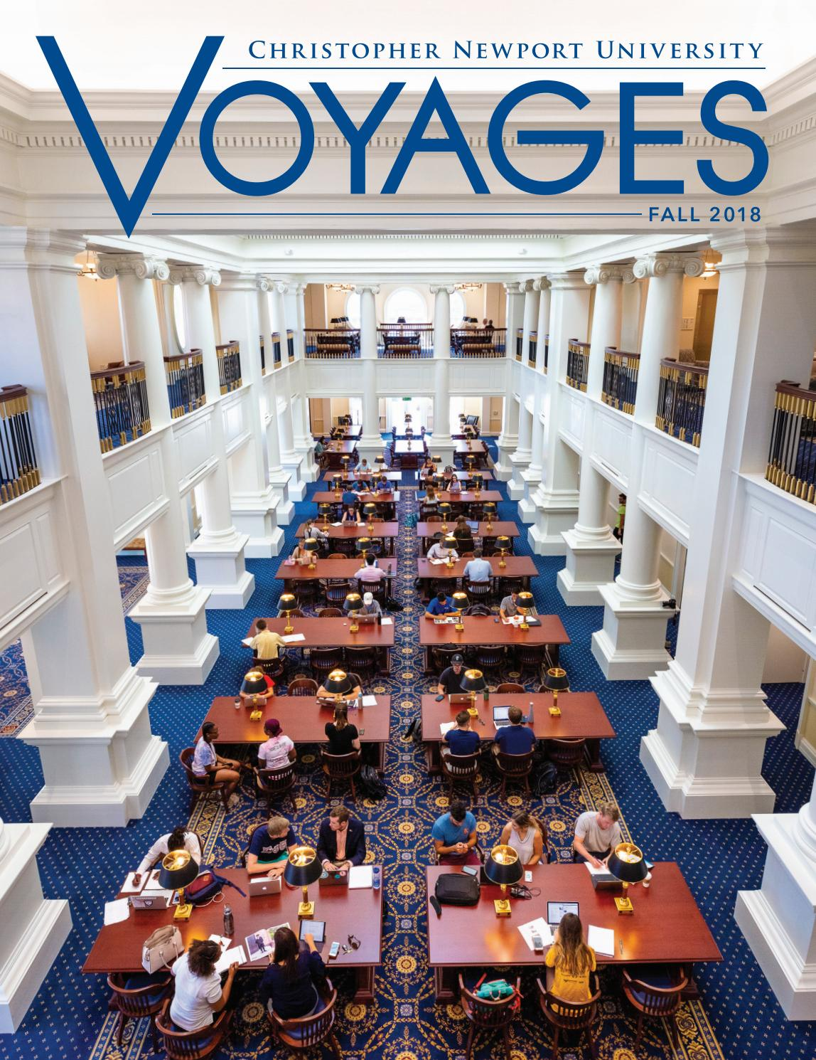 Voyages 2018 by Christopher Newport University - issuu