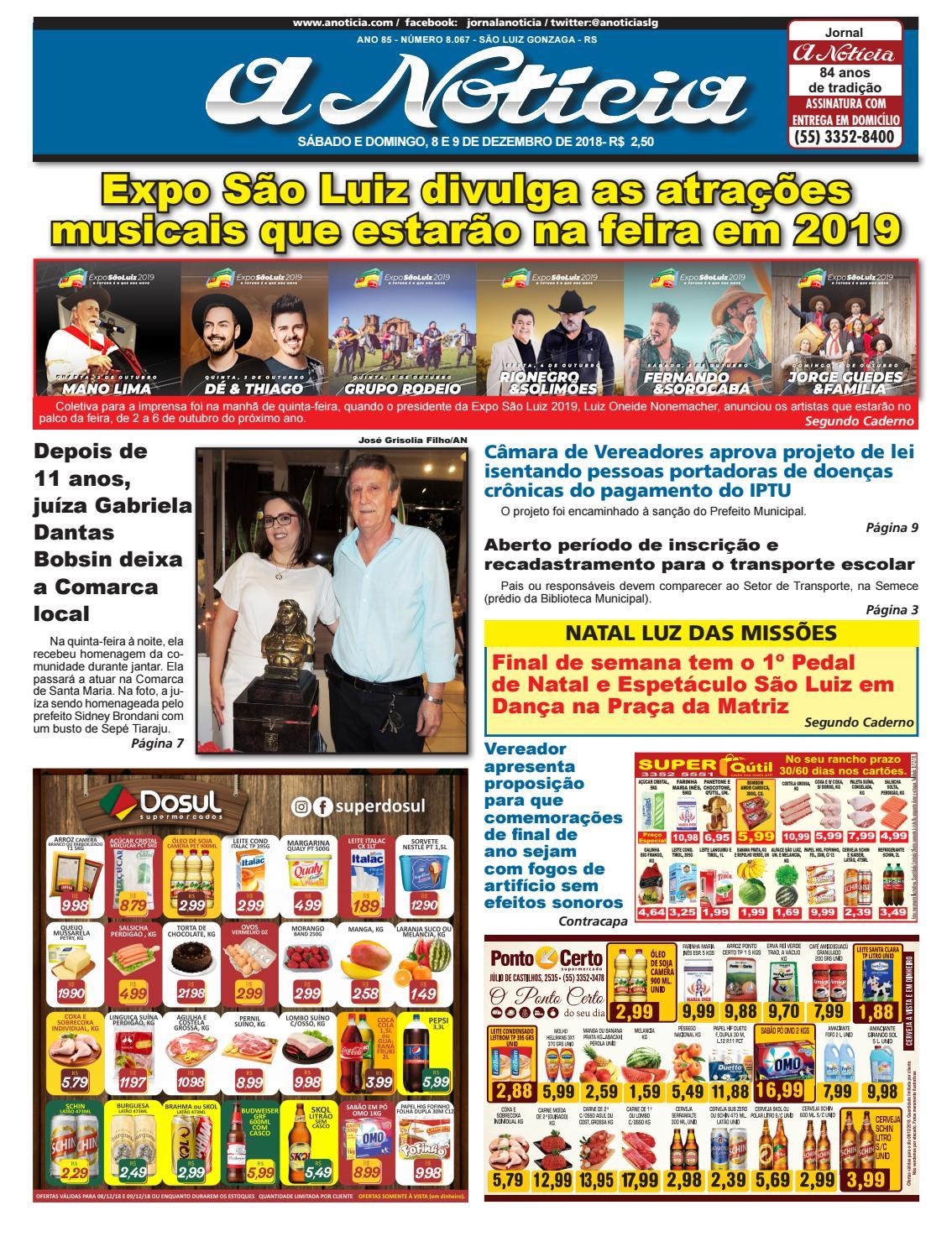 Dia 8 e 9 de novembro by Jornal A Notícia - issuu 429fda078a