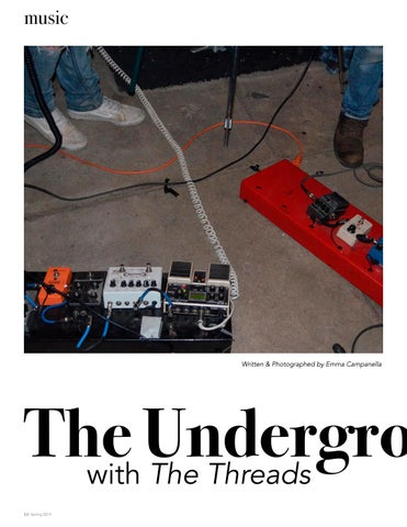 Page 10 of The Underground Soul with The Threads