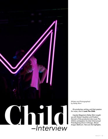 Page 15 of Louis the Child –Interview