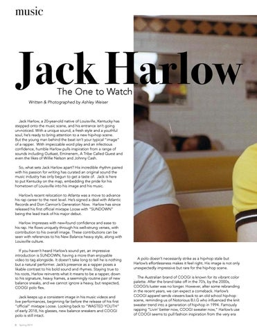 Page 8 of Jack Harlow: The One to Watch