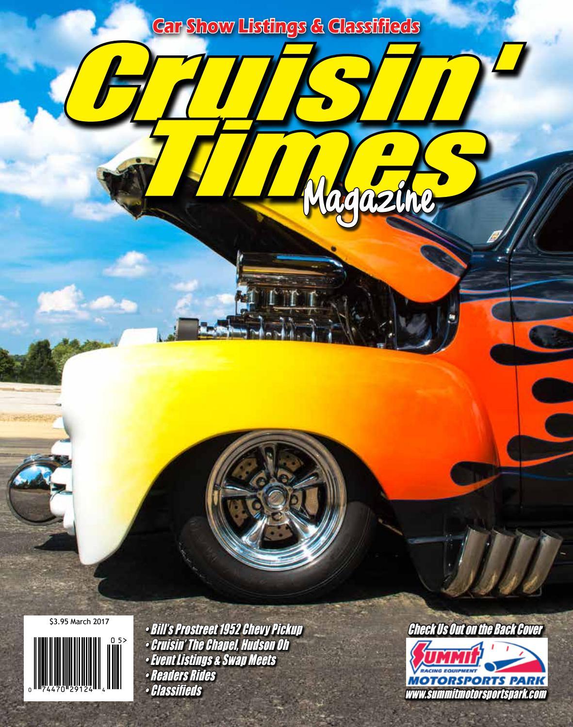 Cruisin times magazine march 2017 by cruisin times magazine issuu