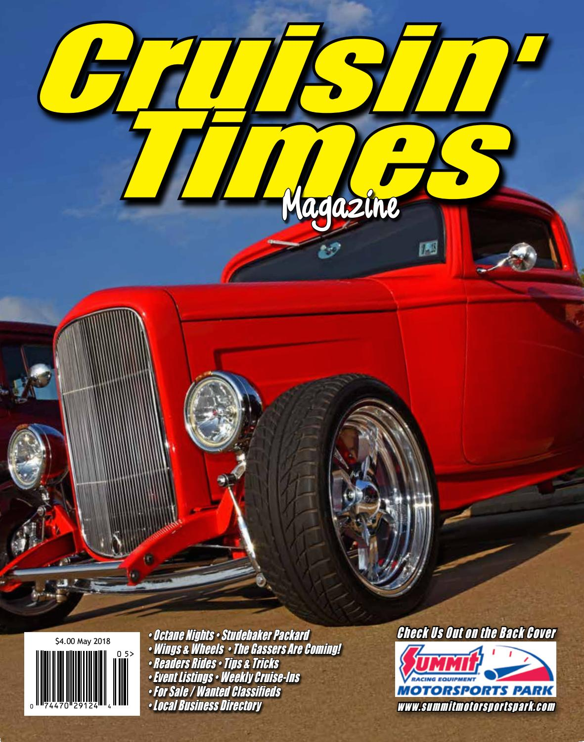 e3c19d614 Cruisin Times Magazine - May 2018 Issue by Cruisin' Times Magazine - issuu