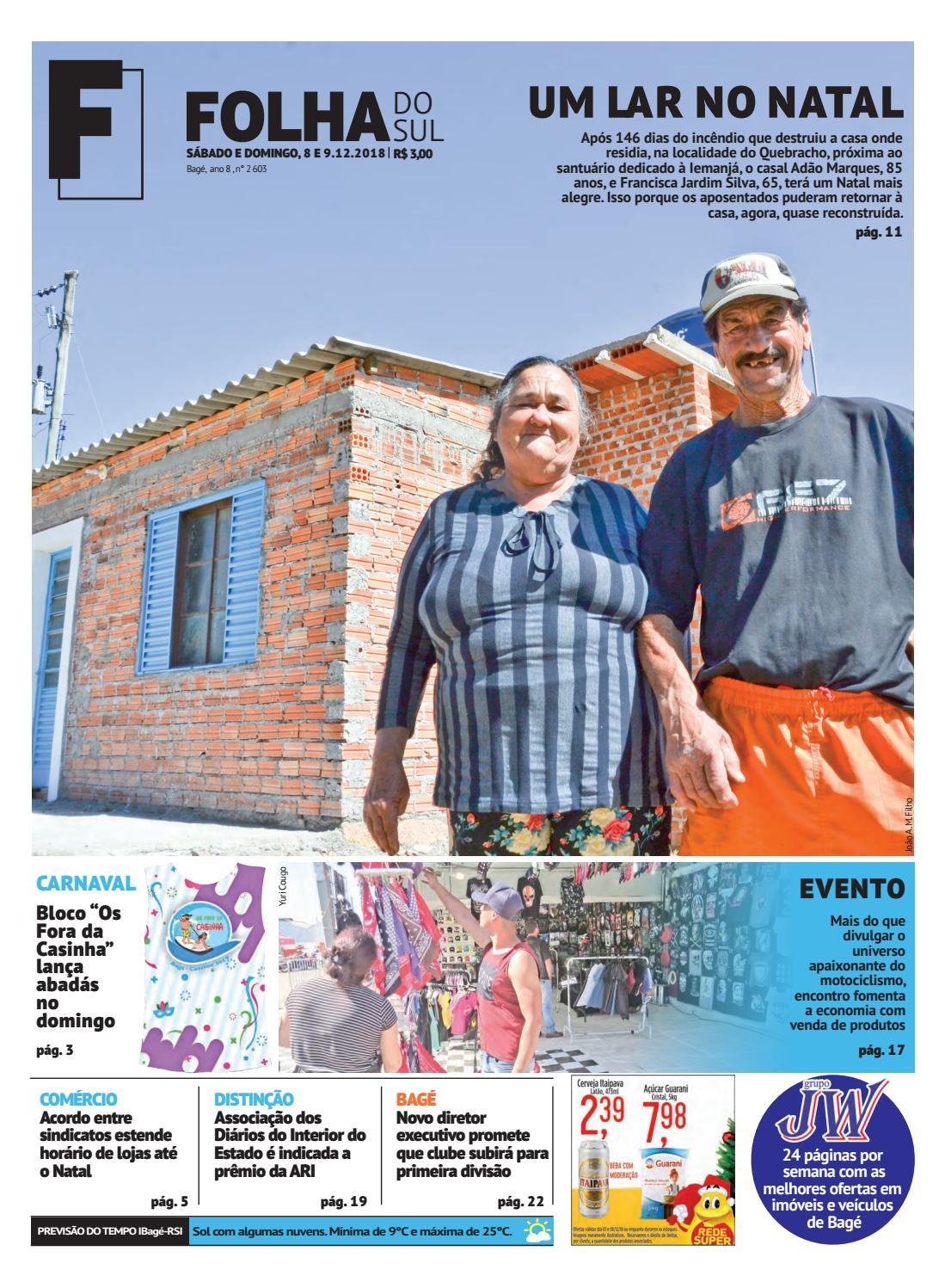 Jornal Folha do Sul, 8 e 9 de dezembro de 2018 by Folha do Sul Gaúcho -  issuu 55e74d087f