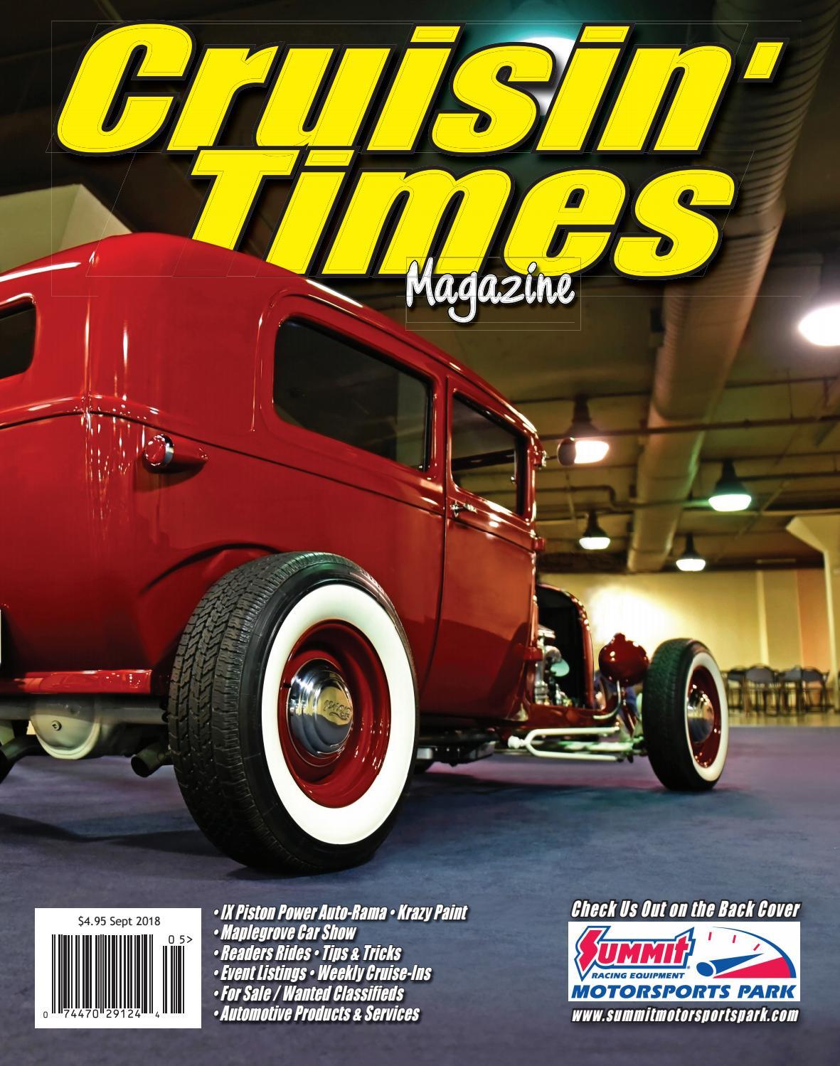 ff927dddb00 Cruisin Times Magazine - September 2018 Issue by Cruisin' Times Magazine -  issuu