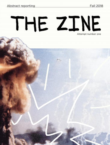 The Zine Issue 01 by The Cascade - issuu