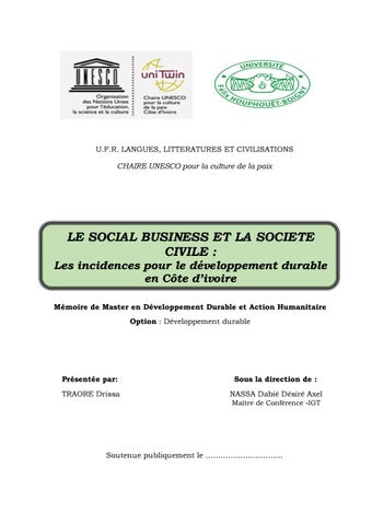 Page 2 of société civile et social business