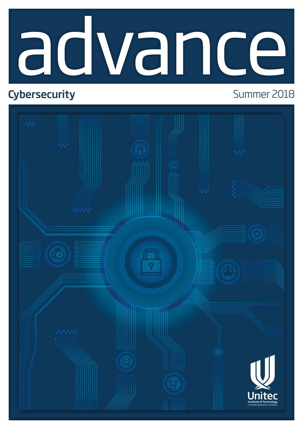 Advance magazine, summer 2018 by Unitec Institute of