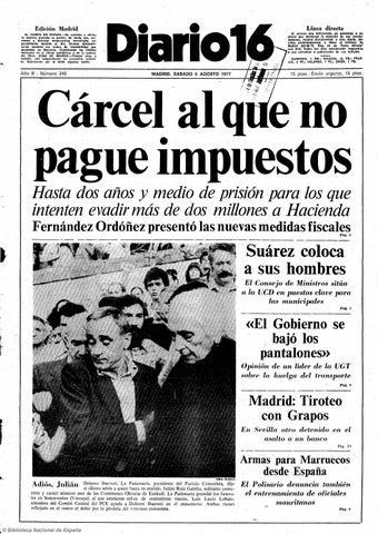 2a8f6a40 Diario 16. 6-8-1977 by diario16deburgos - issuu