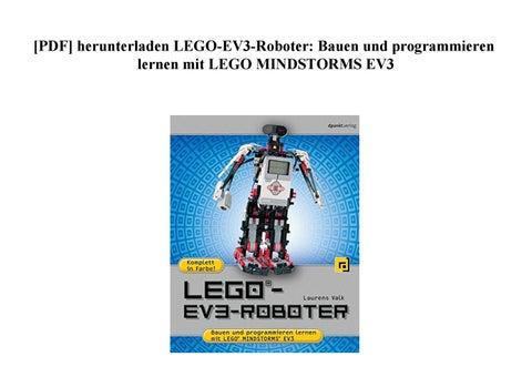 Pdf Herunterladen Lego Ev3 Roboter Bauen Und Programmieren Lernen