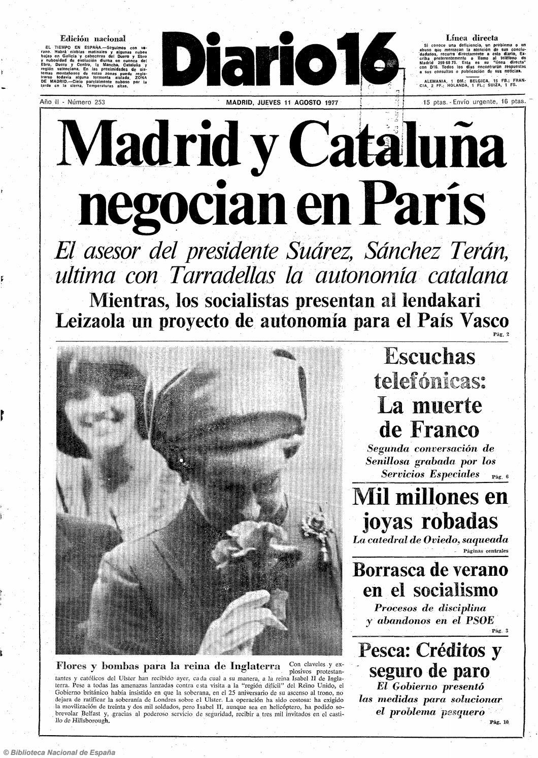 98fae125b756 Diario 16. 11-8-1977 by diario16deburgos - issuu