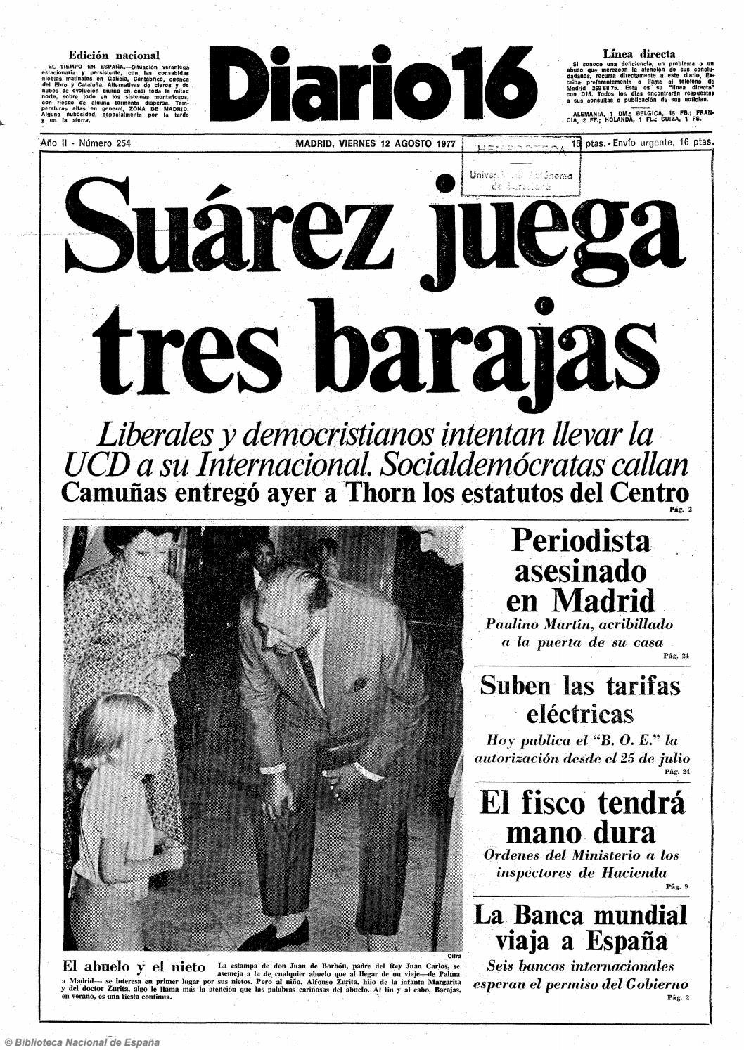 d3c22f185a Diario 16. 12-8-1977 by diario16deburgos - issuu