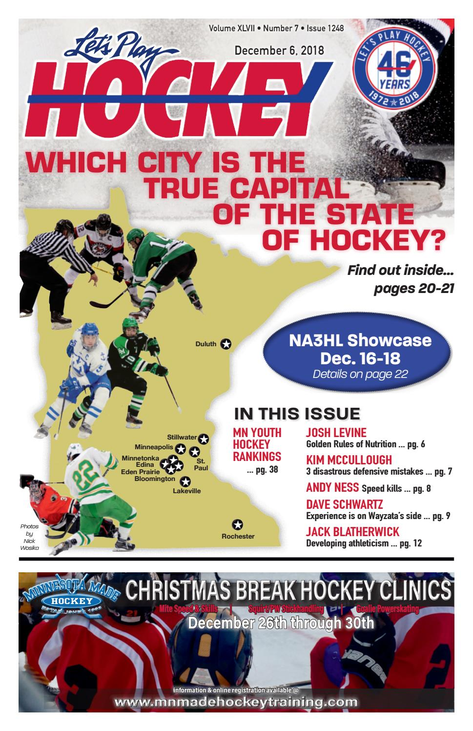 ee584d800551 Which City is the State of Hockey s Capital  by Let s Play Hockey - issuu