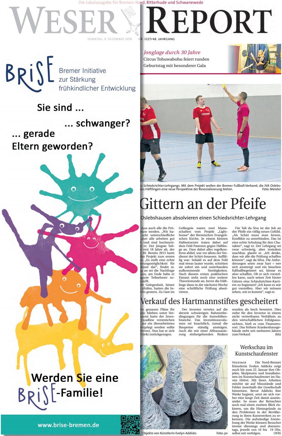 Weser Report - Nord vom 09.12.2018 by KPS Verlagsgesellschaft mbH ...