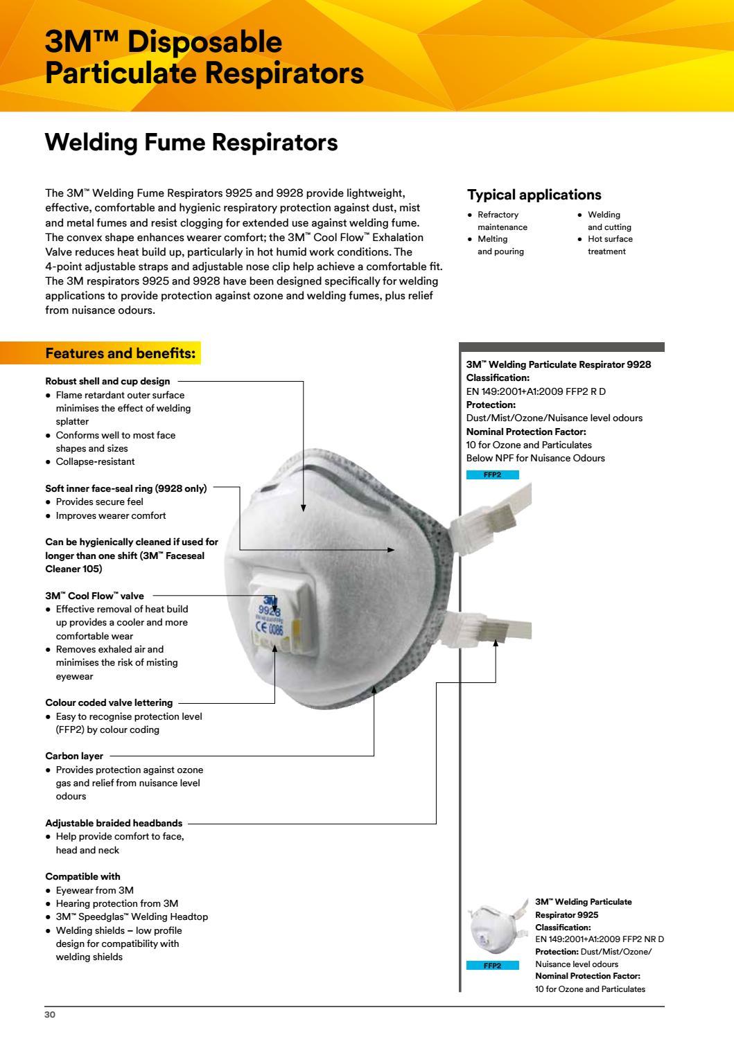 respiratore 3m 9925