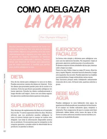 Page 12 of Como Adelgazar la Cara