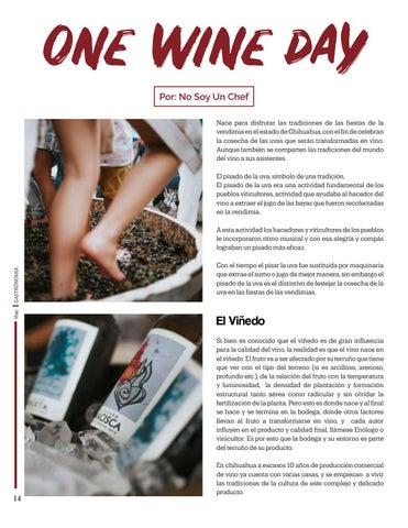 Page 14 of One Wine Day,  Por: No Soy Un Chef