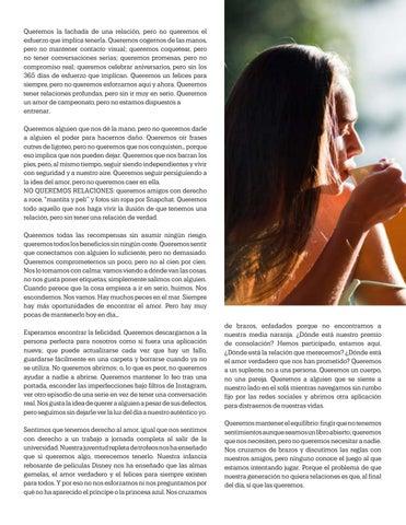 Page 19 of Nos convertimos en la generacion que No Quiere Relaciones, Por: Valeria Ruiton