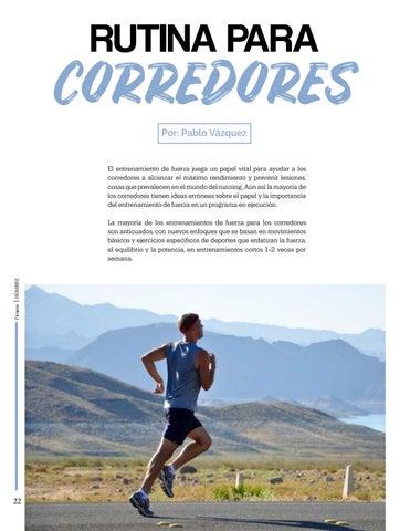 Page 22 of Rutina para corredores
