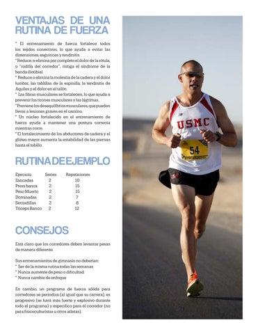 Page 23 of Rutina para corredores
