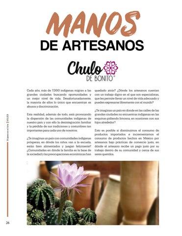 Page 26 of Manos De Artesanos, Chulo de Bonito
