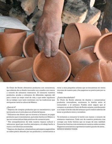 Page 27 of Manos De Artesanos, Chulo de Bonito
