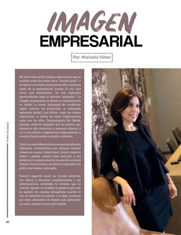 Page 46 of Imagen Empresarial, Por: Marisela Yáñez