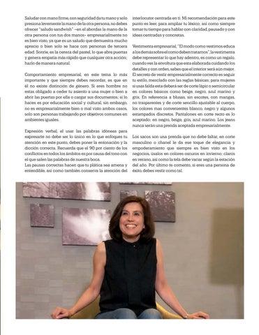 Page 47 of Imagen Empresarial, Por: Marisela Yáñez