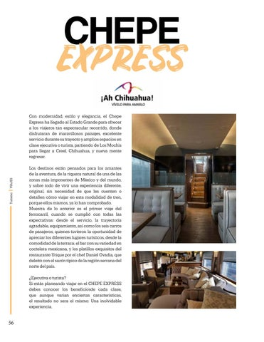 Page 56 of Chepe Express, Ah Chihuahua