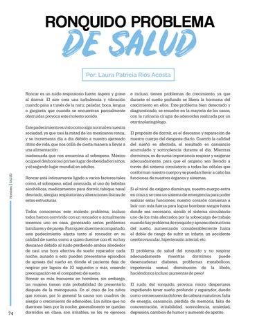 Page 74 of Ronquido Problema De Salud, Por: Laura Rios