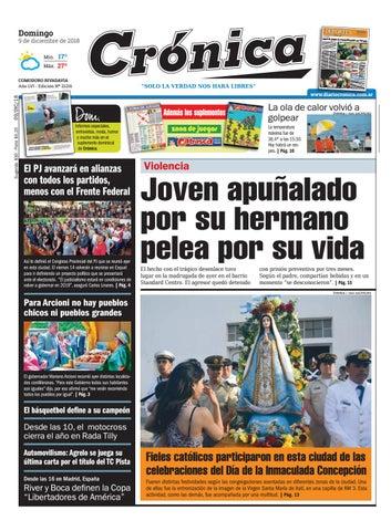 1078b59bb0dd4 Diario cronica 09 12 2018 by Diario Crónica - issuu