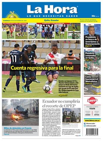 Imbabura 07 de diciembre de 2018 by Diario La Hora Ecuador - issuu 261c580095567