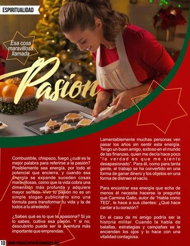 Page 10 of Esa cosa maravillosa llamada pasión por Eli Bravo