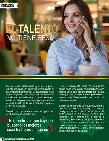 Page 14 of El talento no tiene sexo por Estrella Flores-Carretero