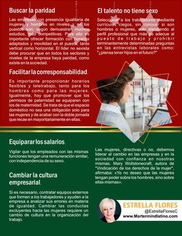 Page 15 of El talento no tiene sexo por Estrella Flores-Carretero