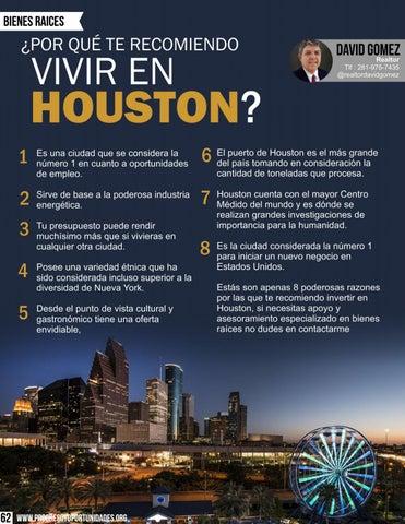 Page 62 of ¿Por qué te recomiendo vivir en Houston?