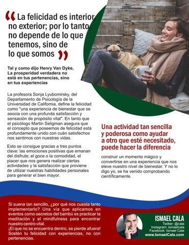 Page 7 of Pertenencias o experiencias por Ismael Cala