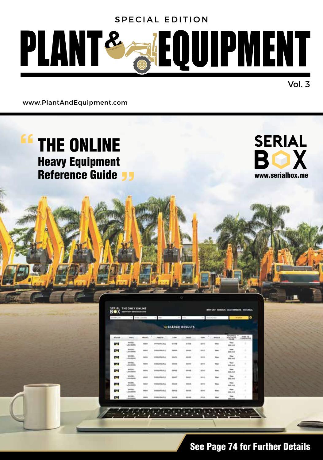 Plant & Equipment | Special Edition Vol 3 | bauma India by