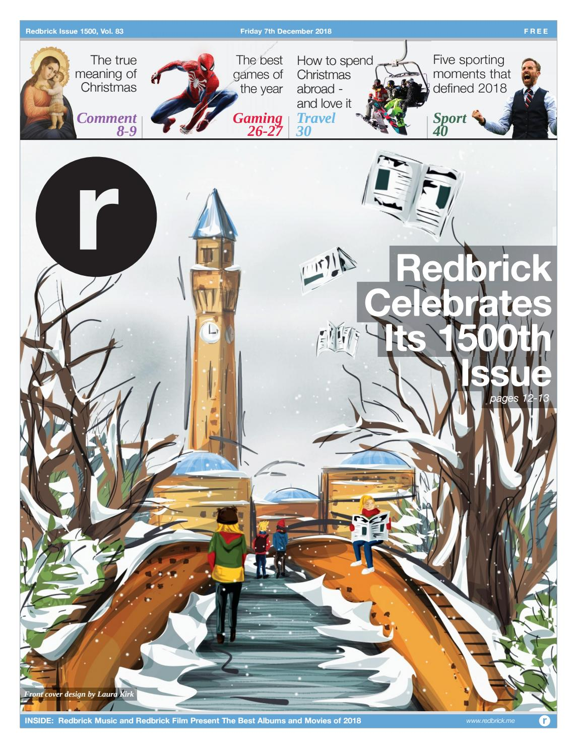 Issue 1500 by Redbrick - issuu