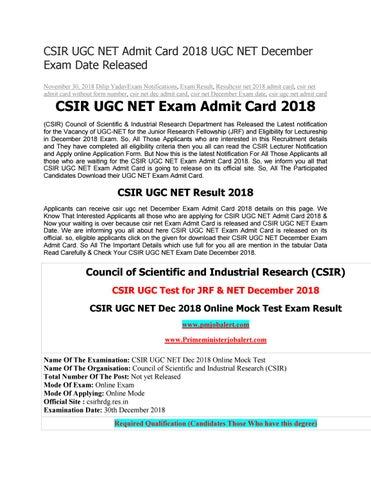 Csir-ugc net 2014 admit card / hall ticket download at www. Cbsenet.