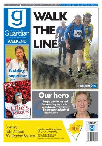 Ashburton Guardian Saturday December 8 2018 By Ashburton Guardian